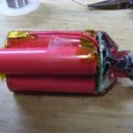 リチウムイオンバッテリー組立て9