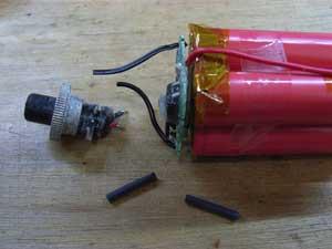 リチウムイオンバッテリー組立て7