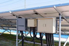 太陽光用蓄電池開発例