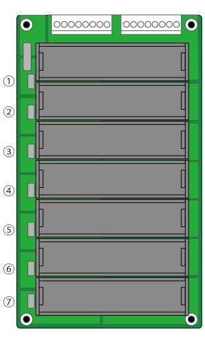 バッテリー開発基板の直列接続1